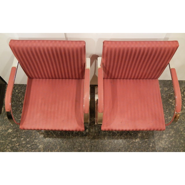 Pair of 1960s Mies Van Der Rohe Brno Chairs for Bruerton - a Pair - Image 5 of 11