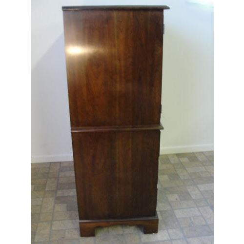 Stickley Stickley Solid Cherry High Cabinet For Sale - Image 4 of 9