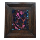 Image of Peter Keil Abstract Face Framed For Sale