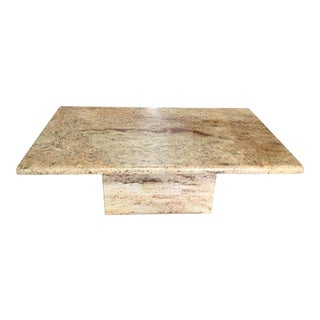1990s Italian Marble Coffee Table For Sale