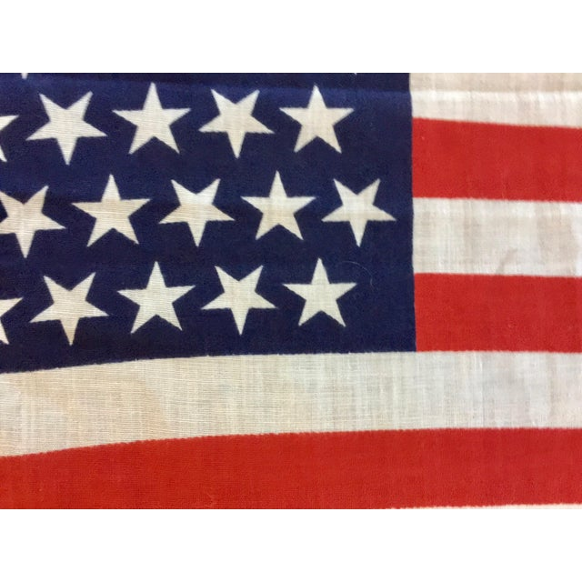 45 Star American Parade Flag For Sale - Image 5 of 7