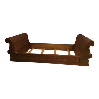 Modern Daybed Made From Rattan For Sale