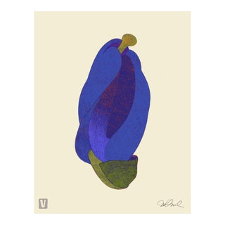 "Blue Bud. Giclee Print 16x20"" For Sale"