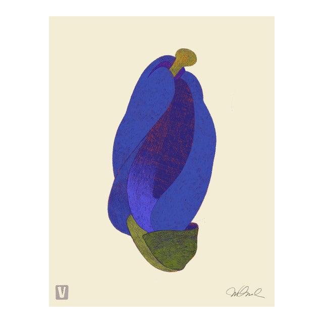 "Blue Bud. Giclee Print 16x20"" For Sale"