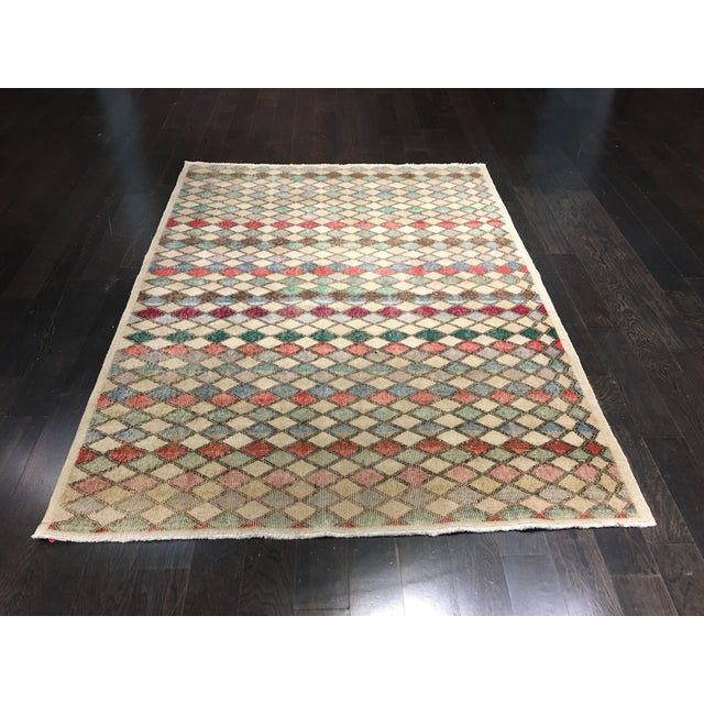 "Zeki Muran Turkish Rug - 5'2"" x 7' - Image 2 of 7"