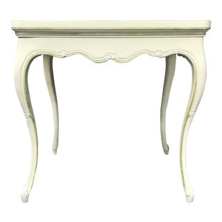 Louis XV-Style Painted Side Table