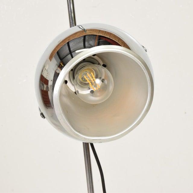 Mid Century Modern Chrome Floor Lamp by Robert Sonneman For Sale In San Diego - Image 6 of 10