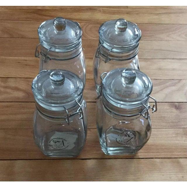 Global Amici Glass Jars - Set of 4 - Image 8 of 9