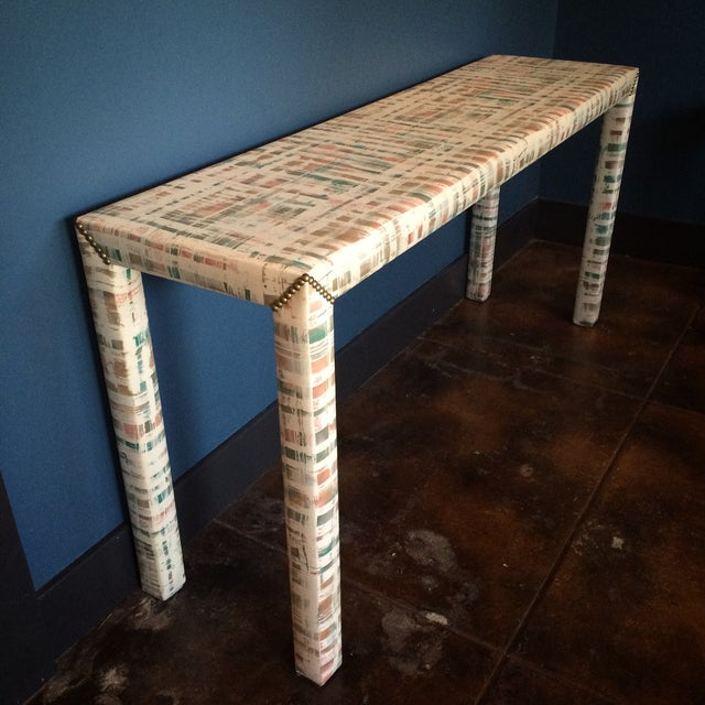 Upholstered Sofa Table - Image 2 of 11