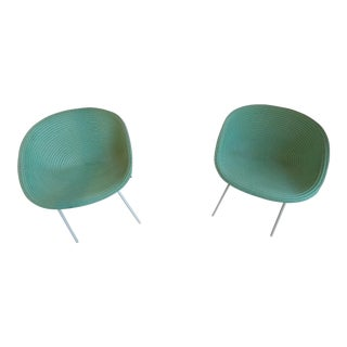 Paola Lenti Amable Chairs - A Pair For Sale