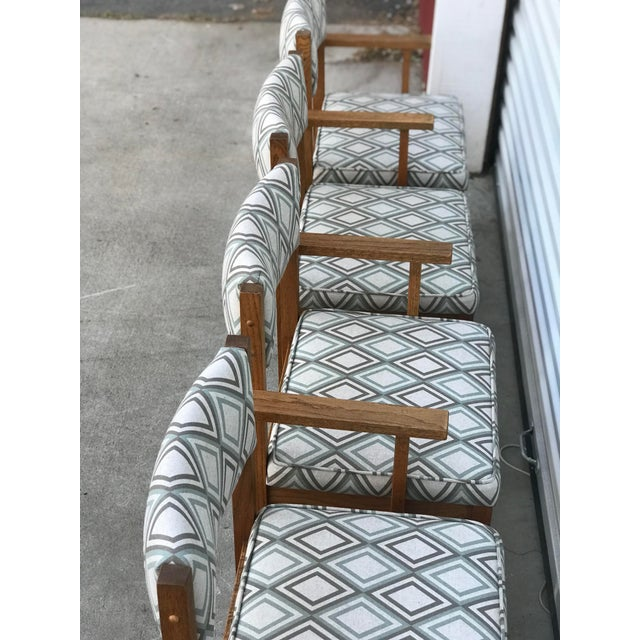 Mid Century Drexel Heritage Dining Chairs- Set of 4 For Sale In Sacramento - Image 6 of 11