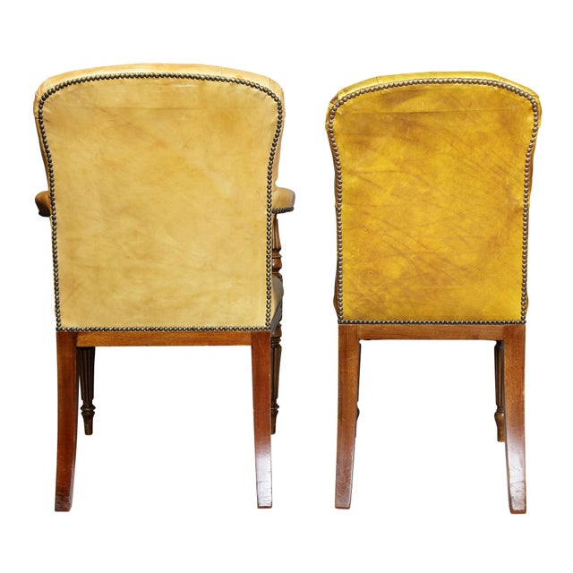 Regency Style Mahogany Dining Room / Conference Room Chairs - Set of 20 For Sale - Image 10 of 11