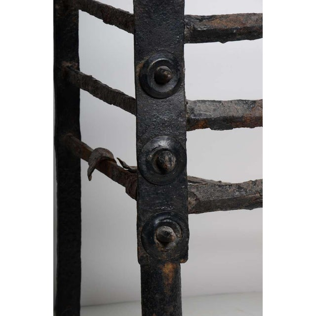Antique Fire Grate/Bucket, 17th Century Dutch For Sale - Image 6 of 10