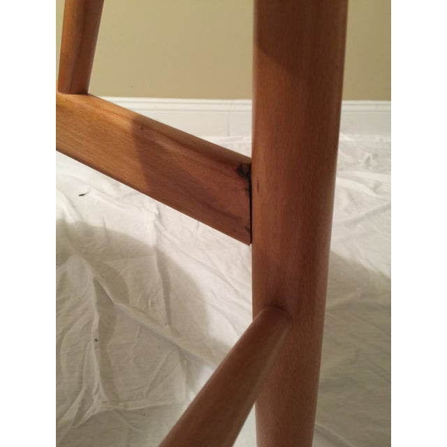 Wood Ib Kofod Larsen Mid-Century Modern Penguin Chair For Sale - Image 7 of 9