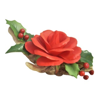 American Pride Rose Figurine For Sale