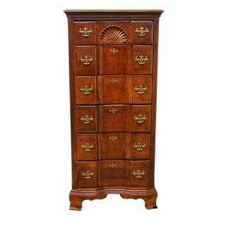 Late 20th Century Vintage Universal Furniture Cherry Lingerie Chest For Sale