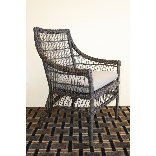 McGuire Water Mill Arm Chair - Image 3 of 6