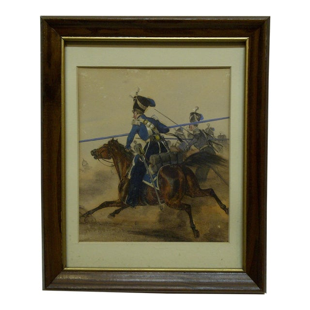 """Charge"" Framed & Matted Print For Sale"