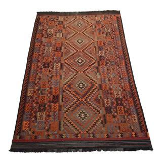 Afghan Tribal Kilim Wool Rug