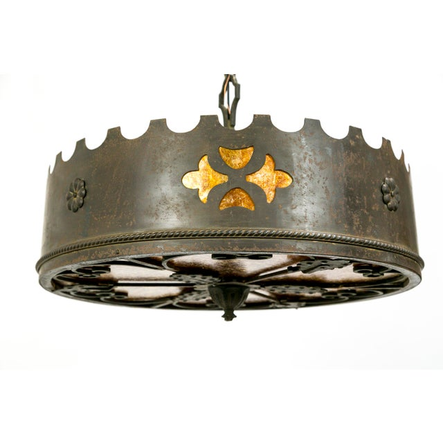 Mica Medieval Revival Chandelier - Image 8 of 11