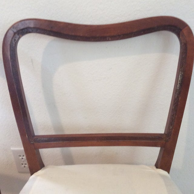 Vintage Swedish Modern Dining / Side Chairs - a Pair For Sale - Image 4 of 7