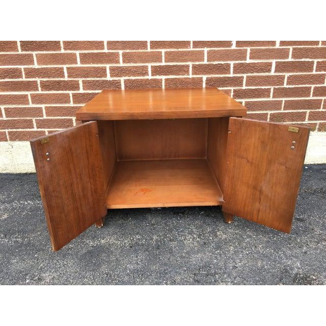 Vintage Lane Walnut Nightstand or Side Table - Image 3 of 5