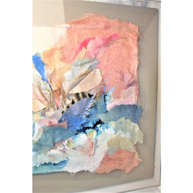 Mixed Media 3-D Fine Art in Lucite Box Frame Signed by Sherry Andrens Owen For Sale - Image 10 of 13