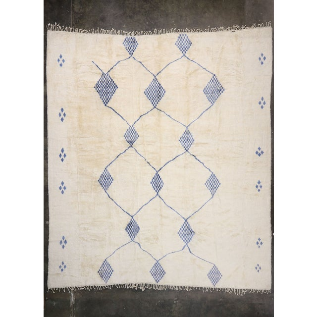 Textile Contemporary Oversized Moroccan Rug - 16'10 X 19' For Sale - Image 7 of 9