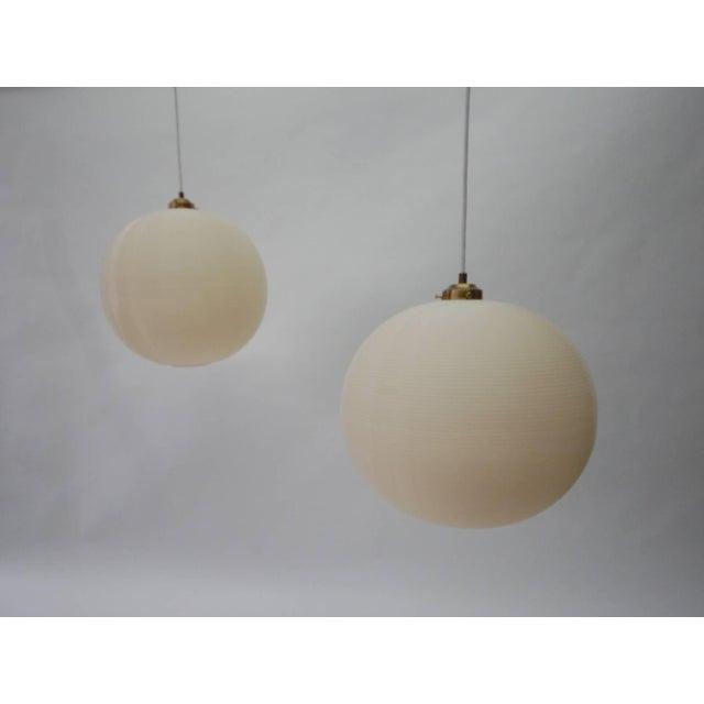 Yasha Heifetz Pair of Rotoflex Pendant Lights by Heifetz For Sale - Image 4 of 4
