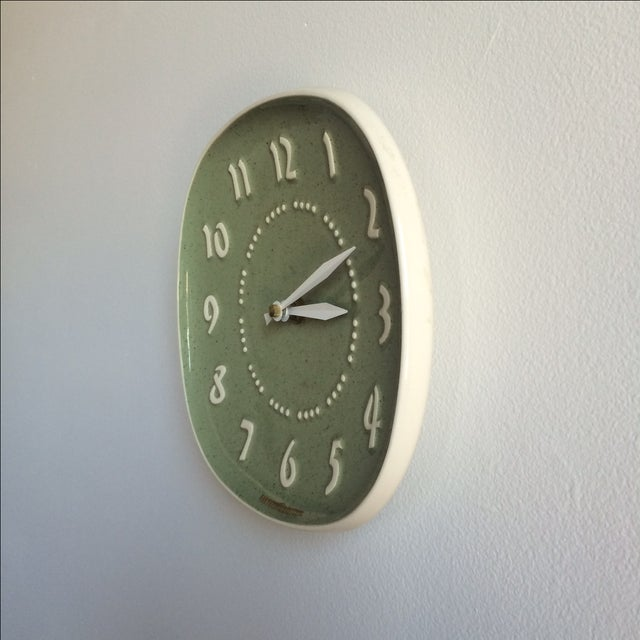 Russell Wright for GE Ceramic Clock - Image 3 of 7