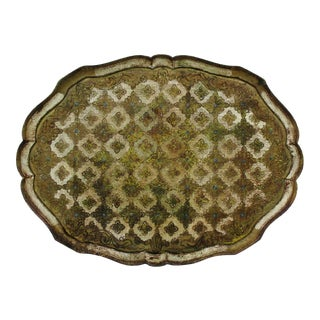 Vintage Florentine Tray For Sale