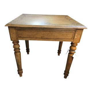 1920s Traditional Style Game or Side Table For Sale