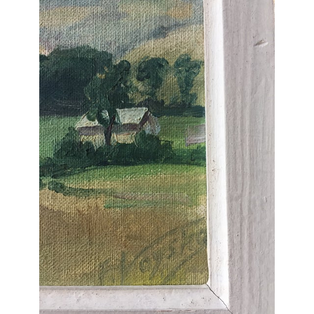 Mid-Century American Impressionist Painting For Sale - Image 4 of 7