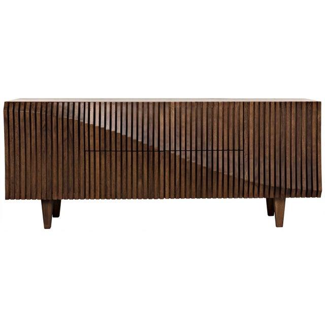 Jin-Ho Dark Walnut Sideboard For Sale - Image 9 of 9