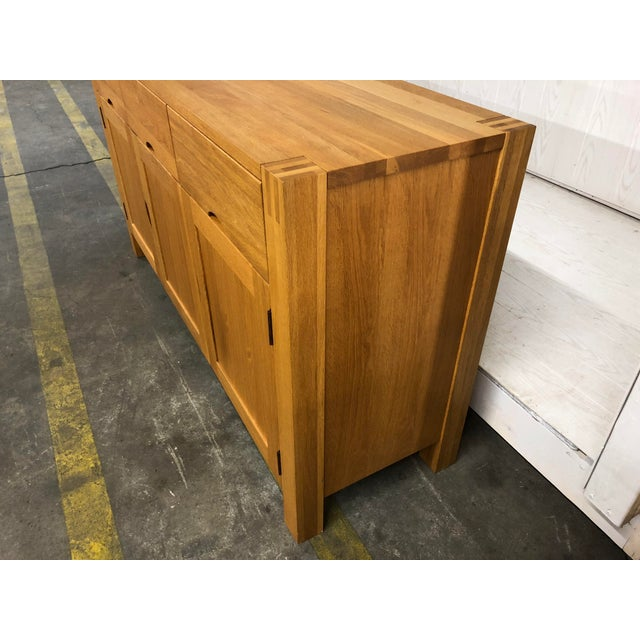 1900s Danish Modern Oak Dresser For Sale - Image 4 of 10