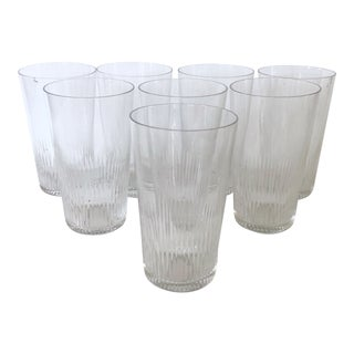 Set of 8 Juice Glasses For Sale