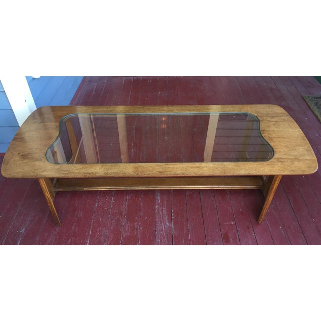 Bassett Brasilia Style Coffee Table For Sale - Image 7 of 8