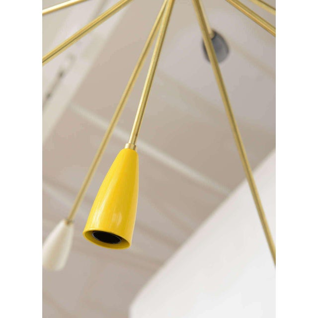 Sputnik Chandelier with 18 Shades - Image 5 of 8