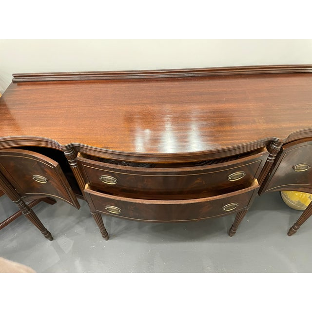 Vintage Sheraton Mahogany Sideboard For Sale - Image 4 of 9