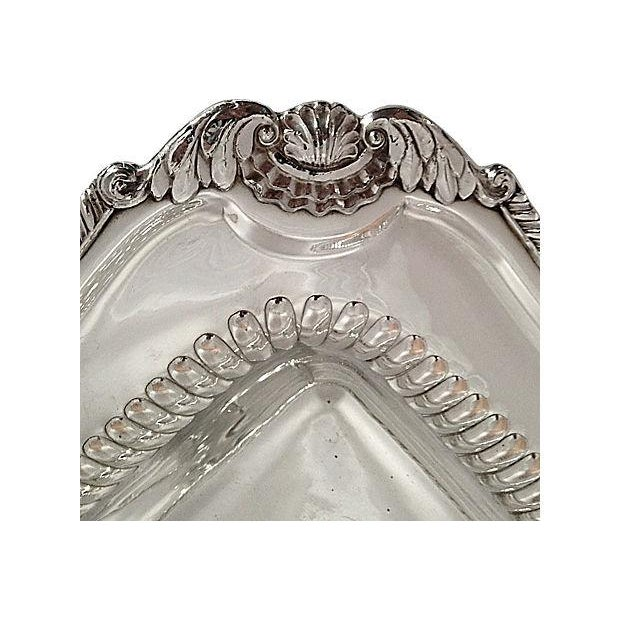 Silver-Plated Lion Footed Catchall - Image 4 of 7