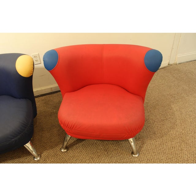 3-Piece Mid-Century Italian Modern Sofa Loveseat/Lounge Chair Set - Image 6 of 11