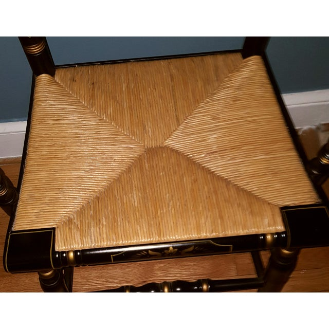 Hamilton College Hitchcock Accent Chair - Image 5 of 11