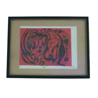 Susan Kronfeld Abstract Print