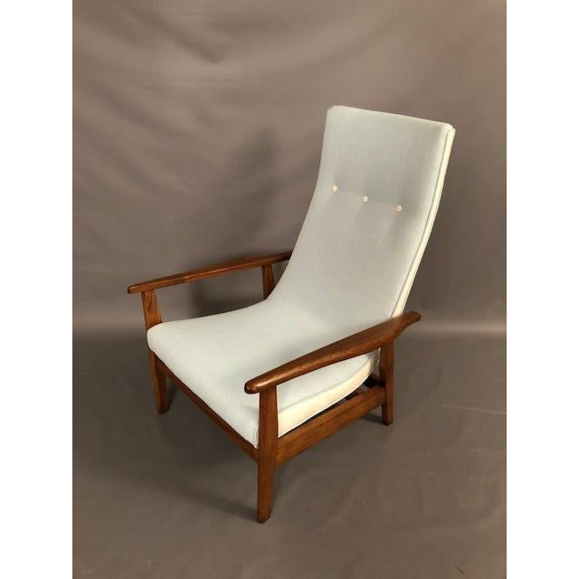 Mid-Century Highback Lounge Chair For Sale - Image 12 of 12