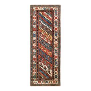 "Antique Caucasian - Shirvan Rug 3'8""x9'8"" For Sale"
