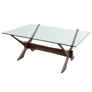 1960s Scandinavian Fredrik Schriever-Abeln Teak Coffee Table