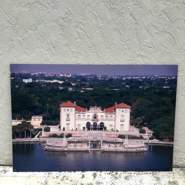 Monumental Photographic Print of Villa Vizcaya, Deaccessioned From Vizcaya For Sale - Image 12 of 13
