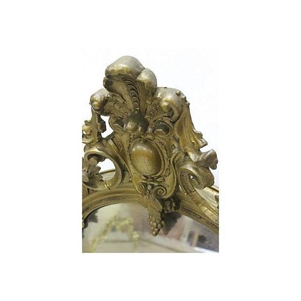 Venetian Gilded Standing Mirror - Image 2 of 2
