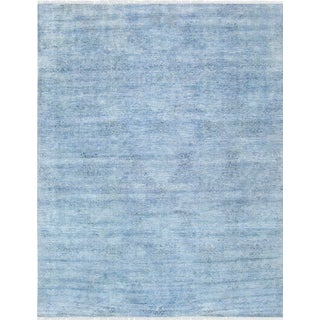 """Pasargad Transitional Silk & Wool Area Rug - 8' 1"""" X 10' 6"""" For Sale"""