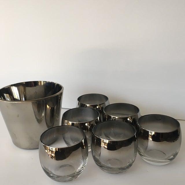 Mid-Century Vitreon Queens Lusterware Set - Set of 7 For Sale - Image 6 of 9
